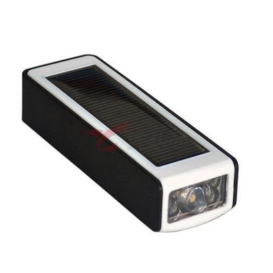 2400MAH太陽能移動電源電筒定制