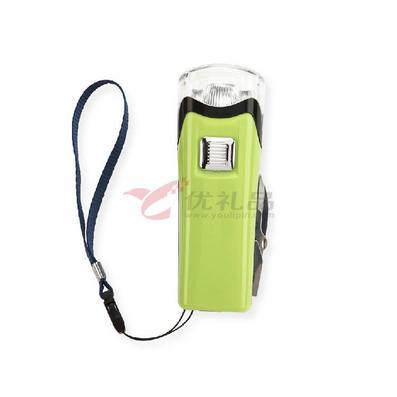 USB手搖充電式軍刀電筒