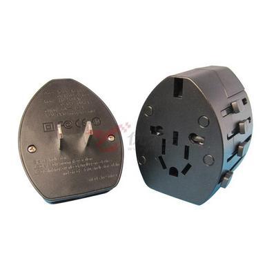 全球通用旅行插座(带2USB口)/多功能旅行转换插座/万能插座 新款