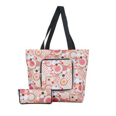 环保可折叠购物袋 超市手提袋环保袋