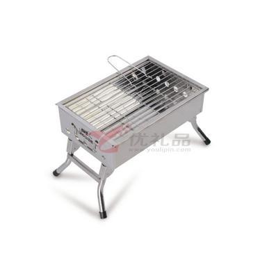 領路者 正品家用燒烤架折疊戶外便攜不銹鋼燒烤爐定制