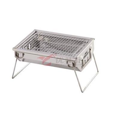 領路者 正品燒烤爐戶外便攜木炭燒烤架不銹鋼家用迷你烤爐小號定制