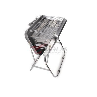 領路者 戶外燒烤用品 車載便攜燒烤爐豪華不銹鋼燒烤箱燒烤架定制
