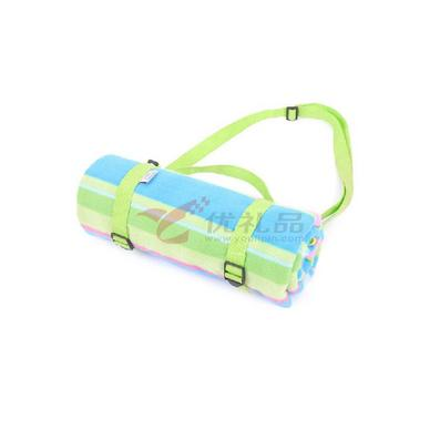 领路者 户外防潮垫手提便携绒面宝宝爬行垫 野餐垫定制