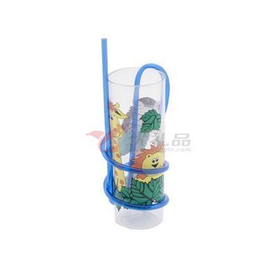 透明吸管水杯定制