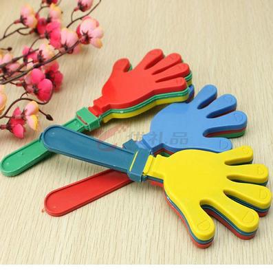 熱銷助威器,小手拍,鼓掌拍,手掌拍,拍拍手,塑料手掌拍定制