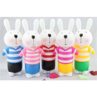 大号三节兔储蓄罐定制