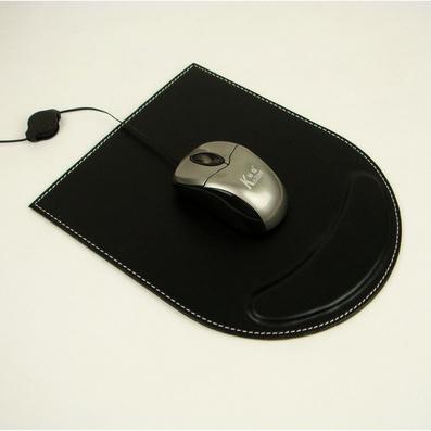 高档皮质鼠标垫 电脑鼠标垫 带护腕定制