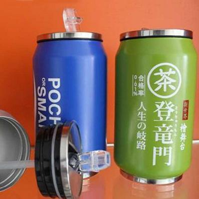 不锈钢真空可乐瓶 创意保温杯 350ML定制