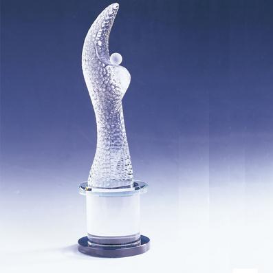 高檔水晶獎杯