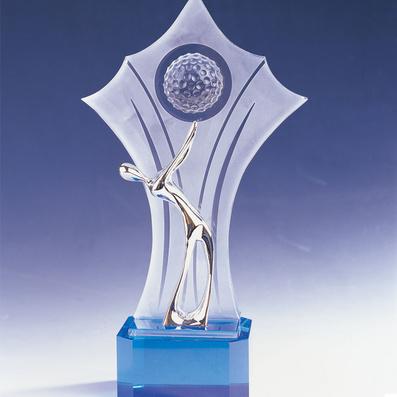 高檔水晶獎牌