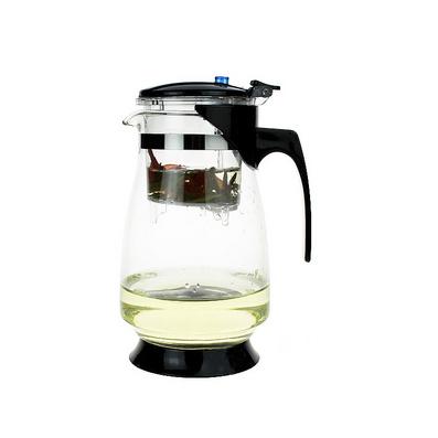 1000ML玻璃茶壺 可拆泡茶杯泡茶壺過濾茶杯子茶具器 耐高溫