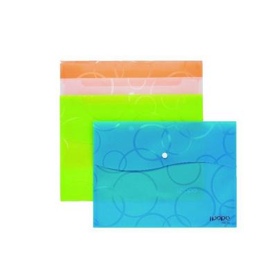 A4泡泡鈕扣袋 文件袋 資料袋