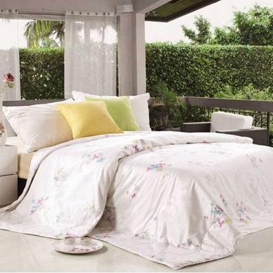 家纺床品纯蚕丝被爱与被爱系列-米兰春天吸湿抑菌