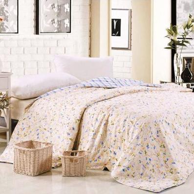 家纺床品纯蚕丝被爱与被爱系列-情定法拉蚕丝精梳棉