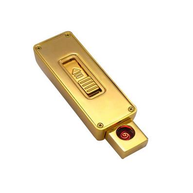 USB充电打火机 金属防风电子点烟器亚博体育app下载地址