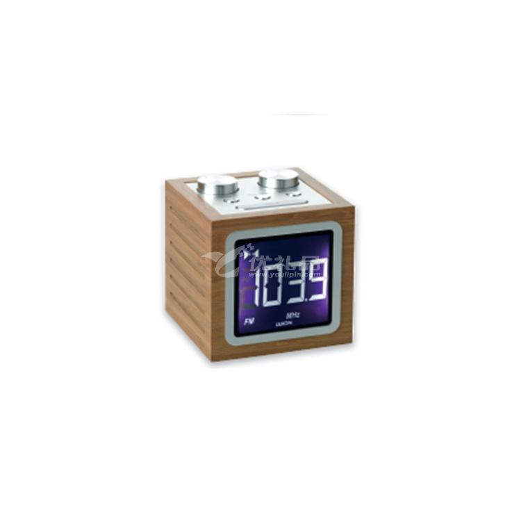 液晶時鐘收音機