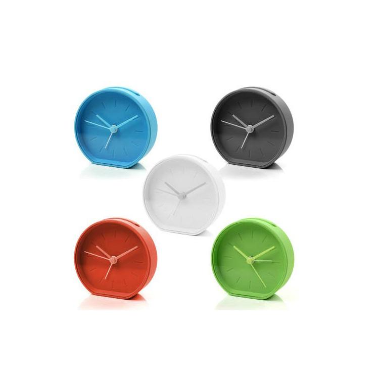 时尚彩色指针式闹铃时钟