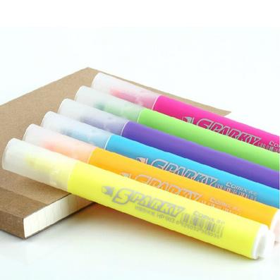 欢颜荧光笔 三角笔杆 新品 广告笔