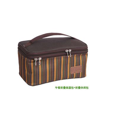 折疊午餐包 保溫袋 保溫帶飯盒包 便當午餐包休閑包定制