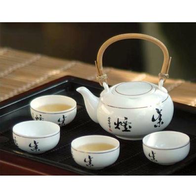 骨質瓷茶具套裝 功夫茶具 提梁茶具 茶具茶杯定制