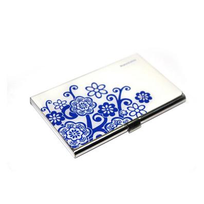 青花瓷名片盒名片夾名片包定制