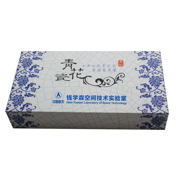 青花盒子 书签套装盒子 精品盒子定制