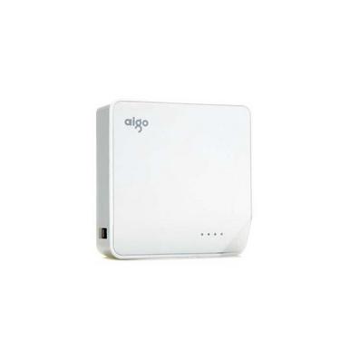 愛國者(aigo) PL6600白之戀 6600毫安便攜移動電源/充電寶定制