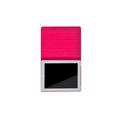 苹果iPad2保护套 iPad3进口PU保护套  色彩保护套定制