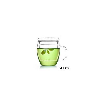 龙胆杯手工艺耐热玻璃杯三件套杯花茶杯