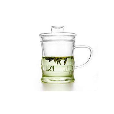 普通竹節杯茶杯水杯玻璃杯定制