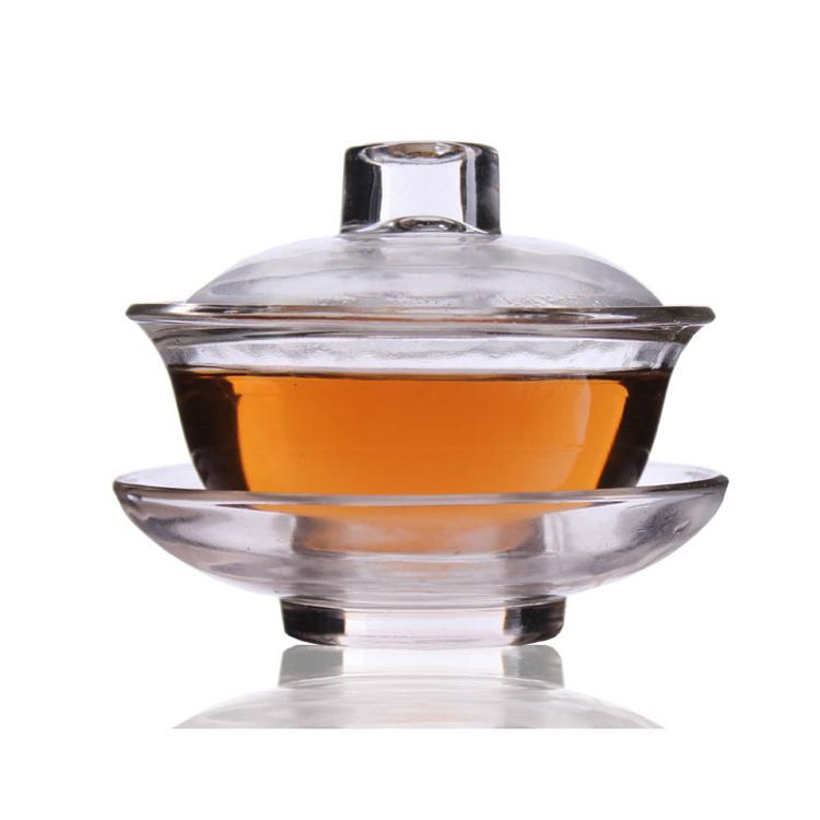 耐热玻璃盖碗功夫茶具茶杯定制