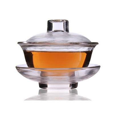 耐熱玻璃蓋碗功夫茶具茶杯定制