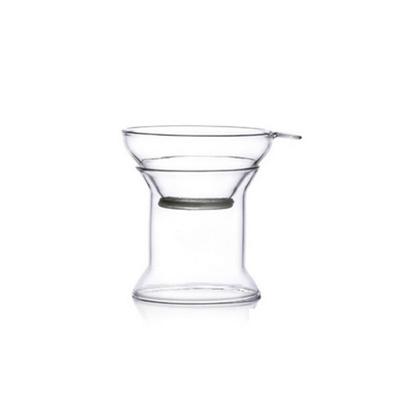 旋轉木馬 手工藝玻璃茶道濾網茶杯玻璃杯定制