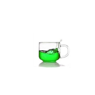 人工吹制耐熱玻璃綠茶杯品茗杯定制