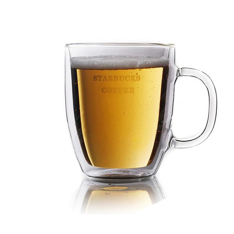 星巴克杯咖啡杯玻璃杯批量定制