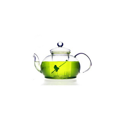 絕美茶壺玻璃水壺批量定制