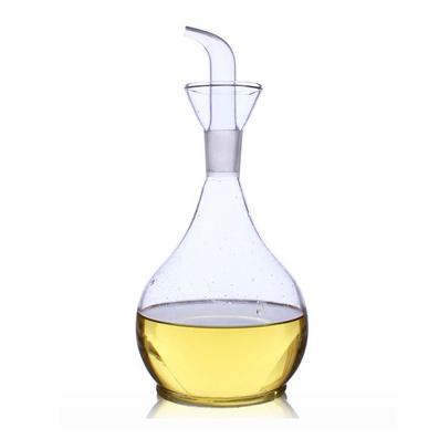 鴨梨油瓶 耐熱玻璃油醋瓶調料瓶罐定制