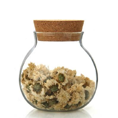 耐熱玻璃花草茶葉罐 菠蘿罐 儲物罐定制