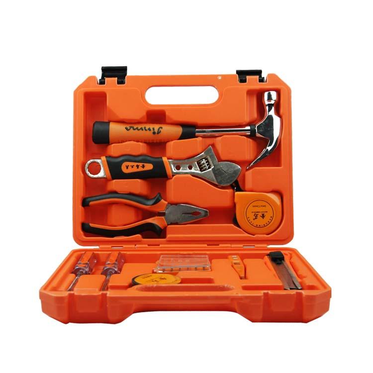 高檔家用組合工具 五金工具箱 金馬工具16件組合套裝定制