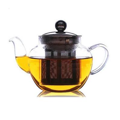 奇葩蘋果壺安全吹制耐熱玻璃茶壺