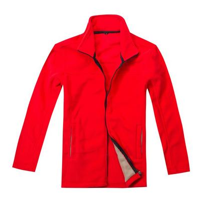 长袖加厚抓绒衣 冬季保暖绒衣定做