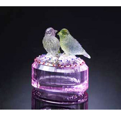 水晶珠寶盒