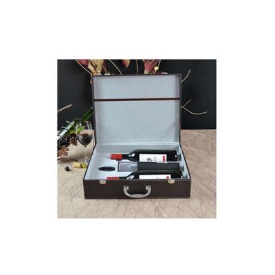干電池電動開瓶器2件套雙支酒箱定制