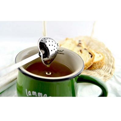 不銹鋼愛心柄濾茶勺、濾茶器、茶夾、茶漏定制