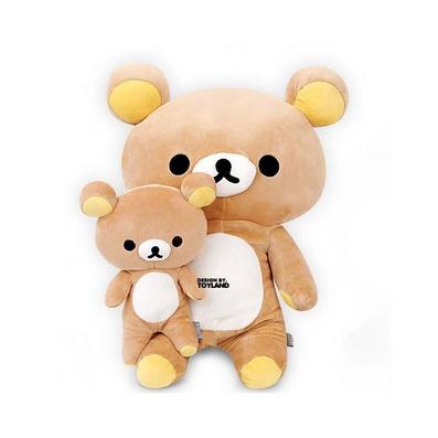 輕松熊公仔毛絨玩具大號熊抱枕定制
