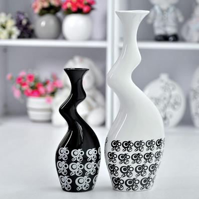 陶瓷花瓶 创意小礼品摆件定制
