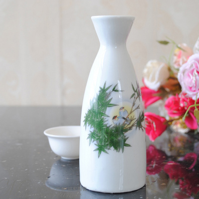 陶瓷酒壺《竹青酒香》古代酒壺