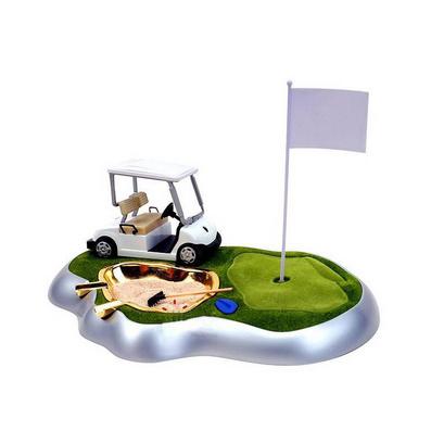 高爾夫煙灰缸搭配球車打火機批量定制