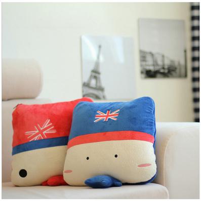 米字旗抱枕 多功能两用抱枕被定制